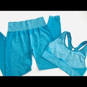 Pink Victoria secret workout set